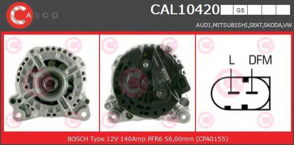 CASCO CAL10420GS Генератор