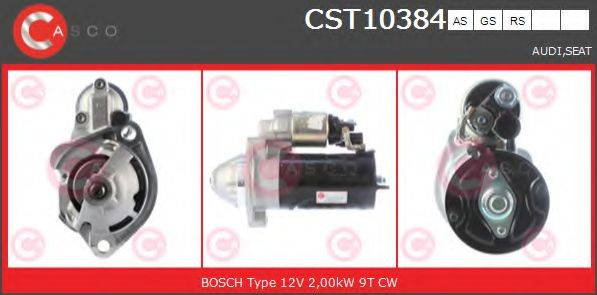 CASCO CST10384AS Стартер