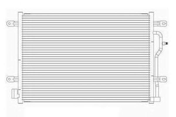 ORDONEZ 2065703 Конденсатор, кондиционер