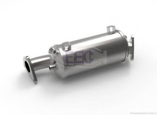 EEC DPF020 Сажевый / частичный фильтр, система выхлопа ОГ