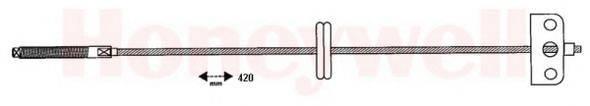 BENDIX 432800B Трос, стояночная тормозная система