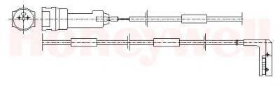 BENDIX 581339 Сигнализатор, износ тормозных колодок