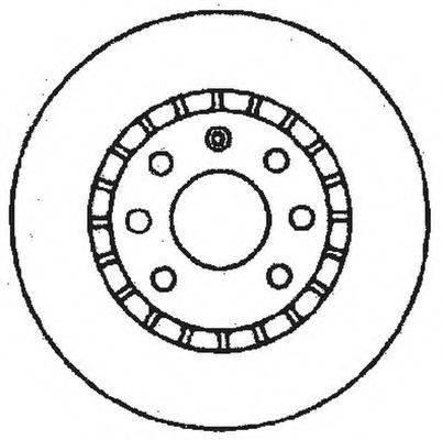 BENDIX 561488B Тормозной диск