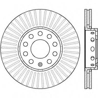 BENDIX 561548B Тормозной диск
