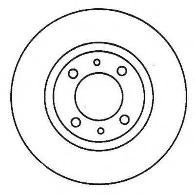BENDIX 561923B Тормозной диск
