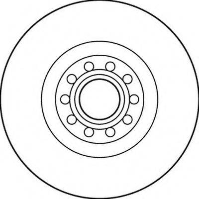 BENDIX 562205B Тормозной диск