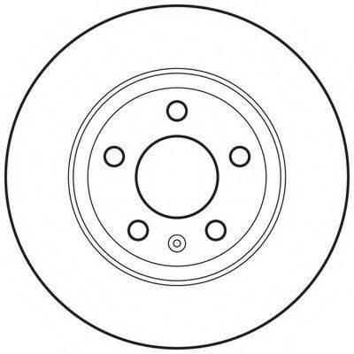 BENDIX 562667BC Тормозной диск