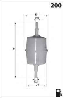 DR!VE+ DP1110130001 Топливный фильтр