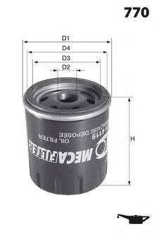 LUCAS FILTERS LFOS110 Масляный фильтр