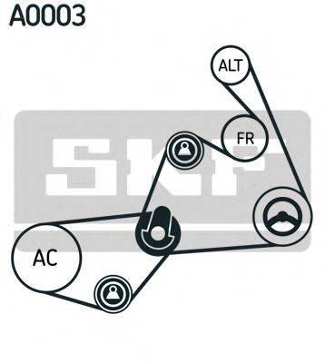 SKF VKMA31020 Поликлиновой ременный комплект