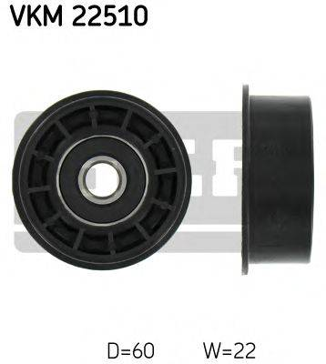 SKF VKM22510 Паразитный / Ведущий ролик, зубчатый ремень