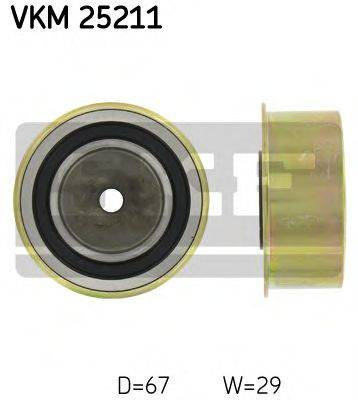SKF VKM25211 Паразитный / Ведущий ролик, зубчатый ремень