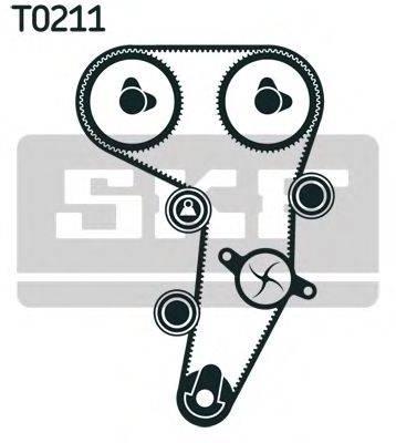 SKF VKMA01255 Комплект ремня ГРМ