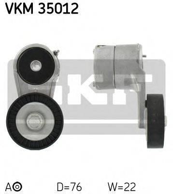 SKF VKM35012 Натяжной ролик, поликлиновой  ремень