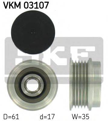 SKF VKM03107 Механизм свободного хода генератора