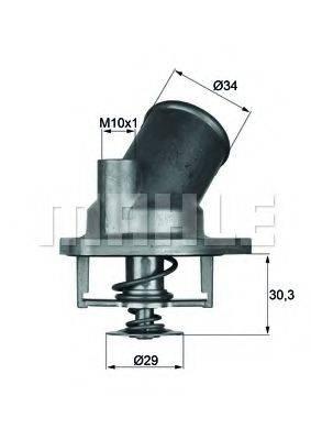 BEHR TI292 Термостат, охлаждающая жидкость