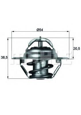 BEHR TX387D Термостат, охлаждающая жидкость