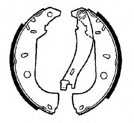 FTE BB1101A2 Комплект тормозных колодок