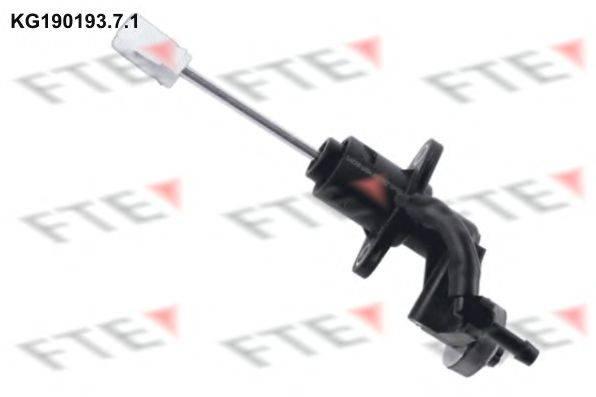 FTE KG19019371 Главный цилиндр, система сцепления