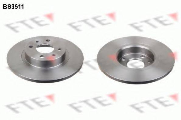 FTE BS3511 Тормозной диск