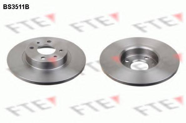 FTE BS3511B Тормозной диск