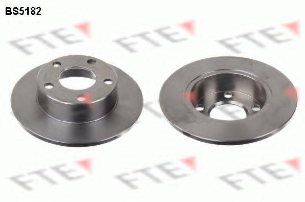 FTE BS5182 Тормозной диск