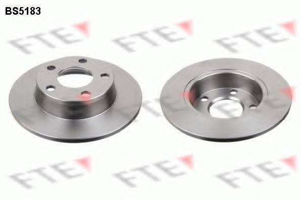 FTE BS5183 Тормозной диск
