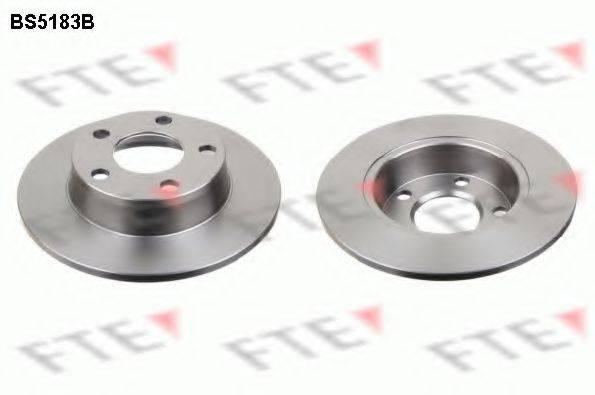 FTE BS5183B Тормозной диск