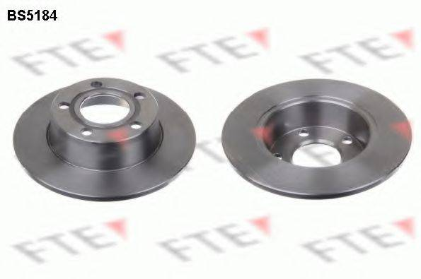 FTE BS5184 Тормозной диск
