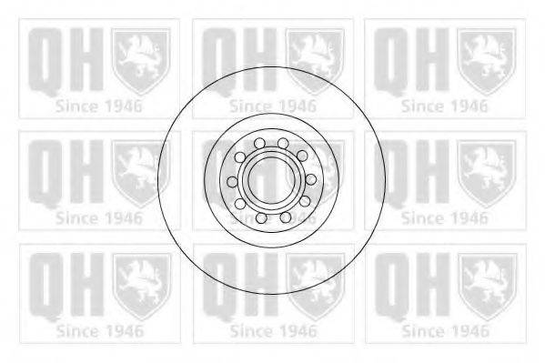 QUINTON HAZELL BDC5009 Тормозной диск