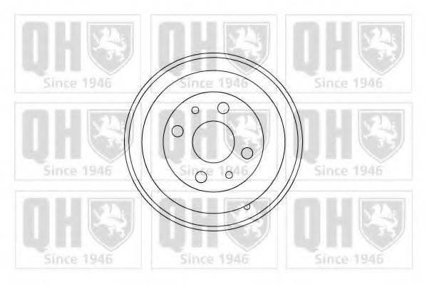 QUINTON HAZELL BDR322 Тормозной барабан