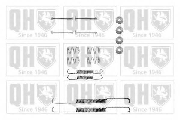 QUINTON HAZELL BFK203 Комплектующие, тормозная колодка