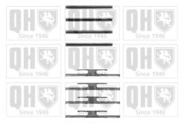 QUINTON HAZELL BFK660 Комплектующие, колодки дискового тормоза