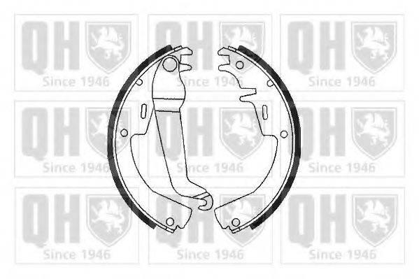 QUINTON HAZELL BS549 Комплект тормозных колодок