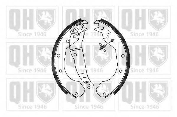 QUINTON HAZELL BS686 Комплект тормозных колодок
