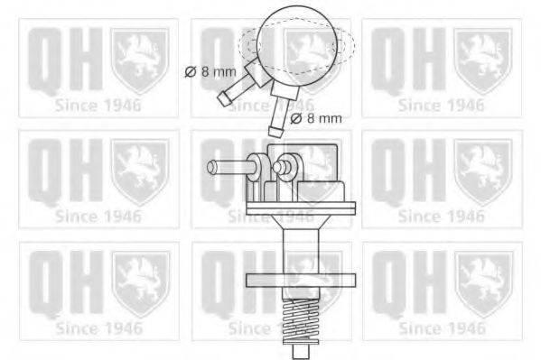 QUINTON HAZELL QFP141 Топливный насос