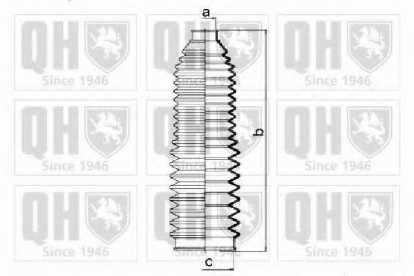 QUINTON HAZELL QG1422 Комплект пылника, рулевое управление