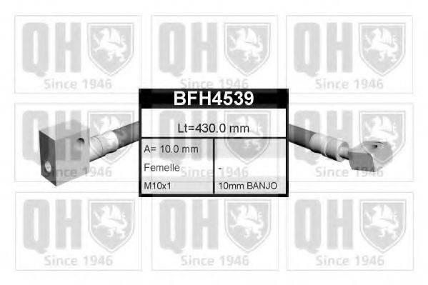 QUINTON HAZELL BFH4539 Тормозной шланг