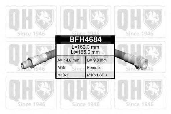 QUINTON HAZELL BFH4684 Тормозной шланг