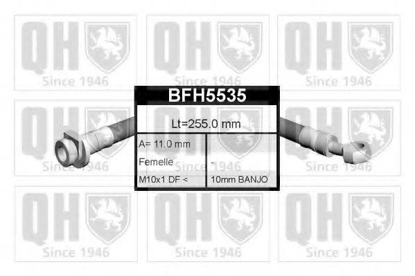 QUINTON HAZELL BFH5535 Тормозной шланг