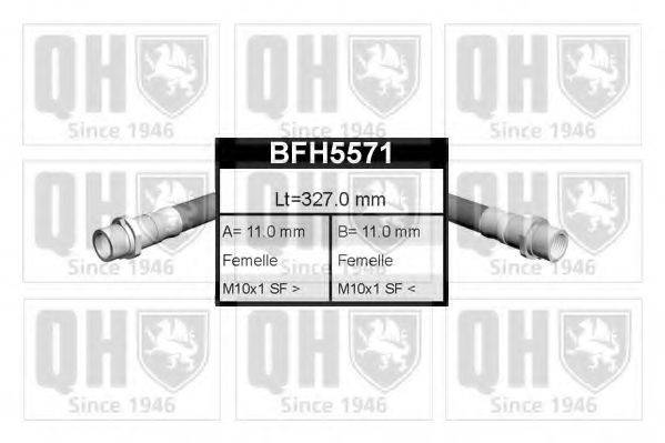QUINTON HAZELL BFH5571 Тормозной шланг