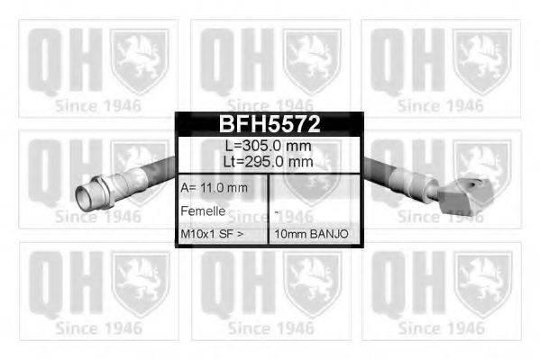 QUINTON HAZELL BFH5572 Тормозной шланг