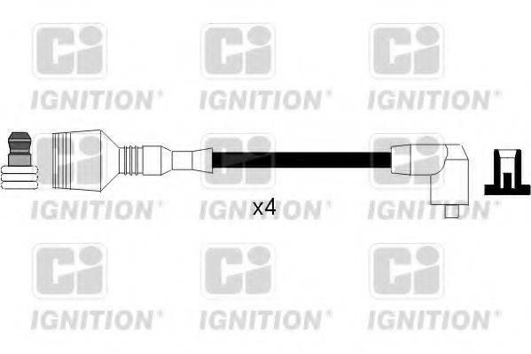 QUINTON HAZELL XC907 Комплект проводов зажигания