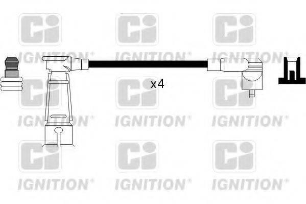 QUINTON HAZELL XC914 Комплект проводов зажигания