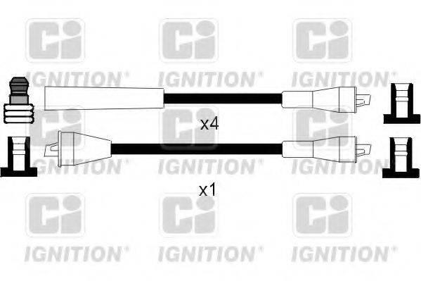 QUINTON HAZELL XC990 Комплект проводов зажигания