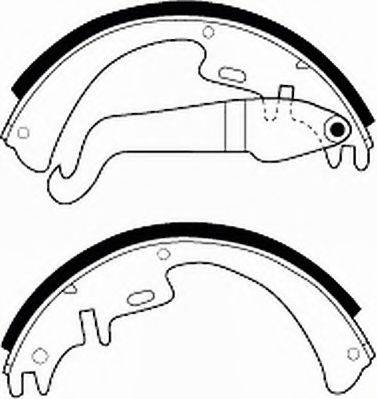 FERODO FSB3 Комплект тормозных колодок