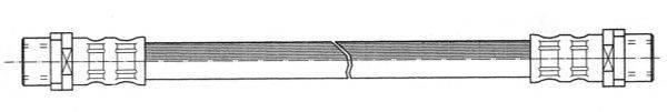 FERODO FHY2245 Тормозной шланг