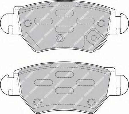 FERODO FSL1294 Комплект тормозных колодок, дисковый тормоз
