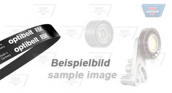 OPTIBELT 4PK855KT1 Поликлиновой ременный комплект