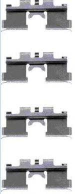 BREMBO A02292 Комплектующие, колодки дискового тормоза